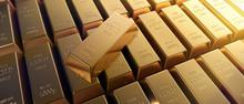 Goldbarren Querformat 3