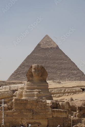 The Sphinx Statue