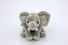 Elephant Plush Toy Isolated On White. Italy