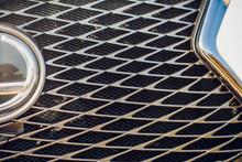 Modern Luxury Car Close-up Gri...