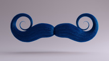 Big Blue Bushy Movember Mustac...