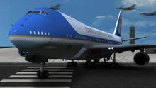 Digital 3d Air Force One Sitti...