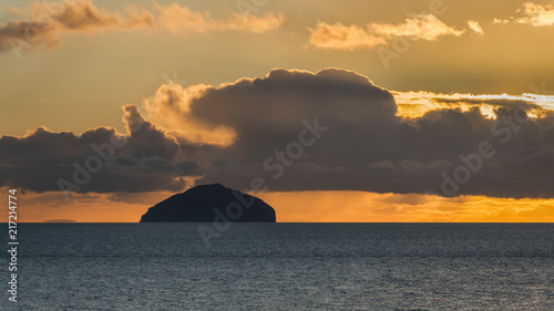 Ailsa Craig Wallpaper Mural