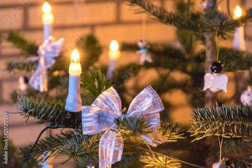 Obraz christmas tree decoration - fototapety do salonu