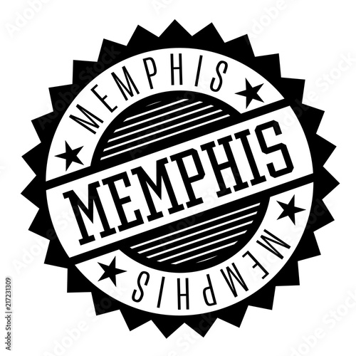 Photo  Memphis black and white badge
