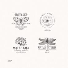 Vintage Logo Collection. Engra...