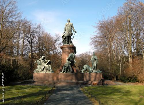 Leinwand Poster Berlin, Bismarckdenkmal