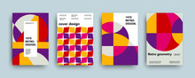 Vector Swiss Trendy Geometry Covers Collection