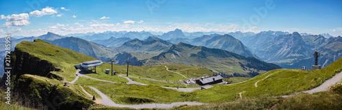 Poster Blauw Alps Austria
