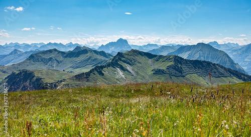 Foto op Aluminium Blauw Alps Austria