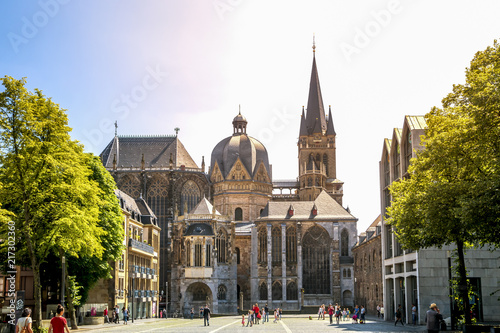 Aachen, Dom Fototapete