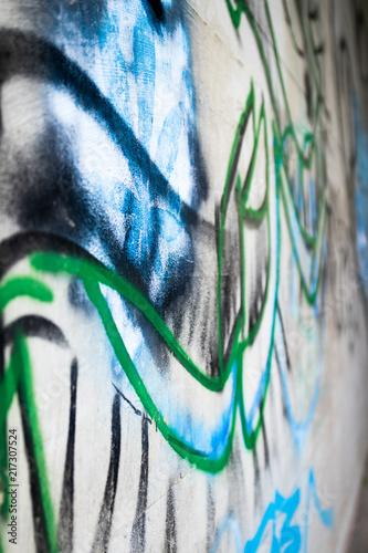 Foto op Aluminium Graffiti Graffiti Art 01