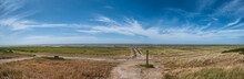 Sorm Flood Column In The Wadden Sea From The Island Mando, Denmark
