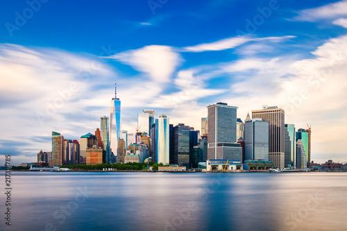 Lower Manhattan New York City Fototapet
