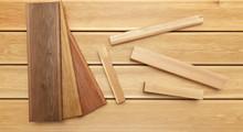Decking Samples, Wooden Backgr...