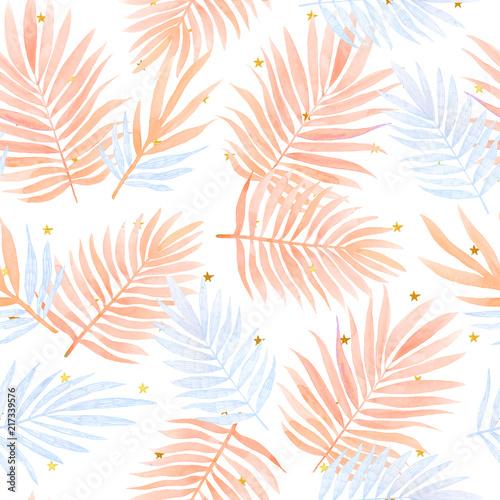 akwarela-wzor-z-tropikalnych-lisci