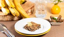 Banana Peel Kebab With Ground Beef - Vegetarian