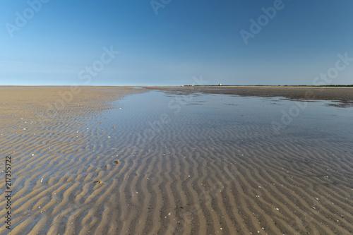 Spoed Foto op Canvas Noordzee Am Strand von St. Peter-Ording