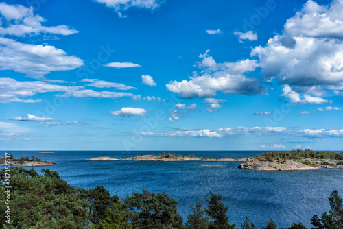 View from the island of Kupan over St Wallpaper Mural
