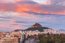Mount Lycabettus Towering Abov...