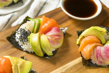 Homemade Trendy Japanese Sushi...