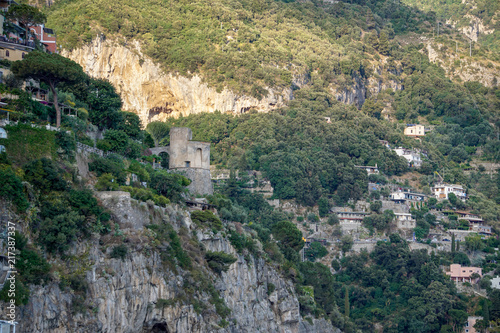 Spoed Foto op Canvas Khaki Amalfi Italy Coast