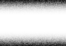 Dotwork Gradient Background, Black And White Scattered Stipple Dots