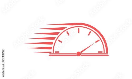 Speedometer vector Wallpaper Mural