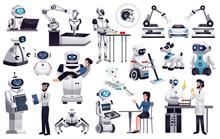 Robots Artificial Intelligence Set