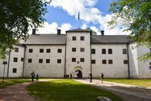 Turku Castle's Bailey On A Beautiful, Sunny Day In Summer. In Turku, Finland.