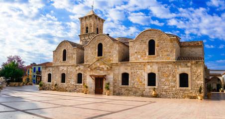 Landmarks of Cyprus - Byzantin church Saint Lazaros in Larnaka town.