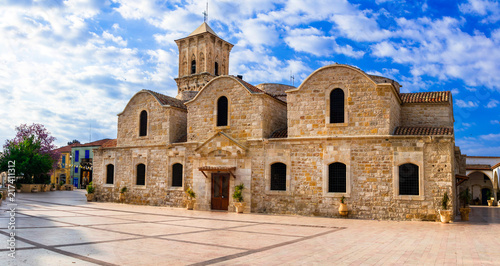 Landmarks of Cyprus - Byzantin church Saint Lazaros in Larnaka town.