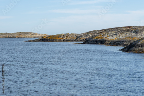 Foto op Plexiglas Kust Rocky landscape by the sea