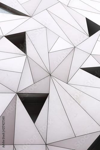 Obrazy w różnych kolorach biale-bryly-3d