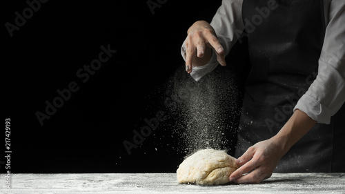 Canvas Prints Bread cooking