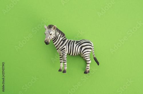 Cadres-photo bureau Zebra An animal is a children's toy.