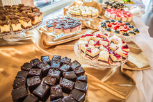 Selection Of Cakes And Pastry ...