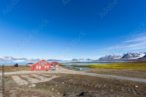 Mellageret Kaffe, Ny Alesund, Spitsbergen, Svalbard, Norway