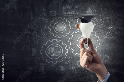 Concept of business education Fototapet