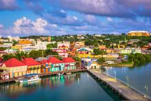 St. John's, Antigua Quay And T...