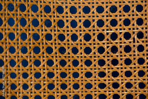 Photo geometric basketwork seamless pattern stylish texture with repeating straight li