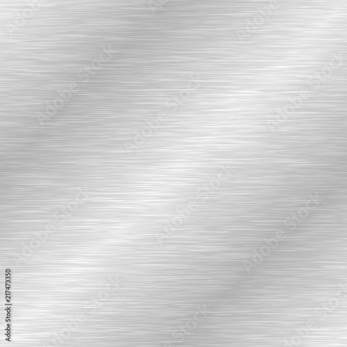 Tapeta Ecru  seamless-brushed-metal-texture-vector-steel-background-with-scratches