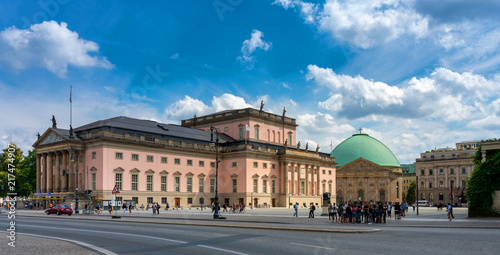 Photo sur Aluminium Opera, Theatre Staatsoper unter den Linden in Berlin