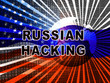Russia Hacking American Elections Data 3d Illustration