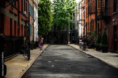 Photo Stands New York west village manhattan