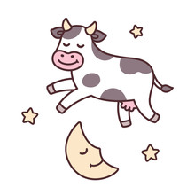 Cow Jumping Over Moon