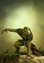 Fantasy Reptilian Warrior Read...
