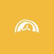 Inspiration, creative agency, innovation, energy, electric, designer, training, education web icon. Idea minimalistic vector logo. Vector lamp Template. Illustration, Graphic Editable Design.