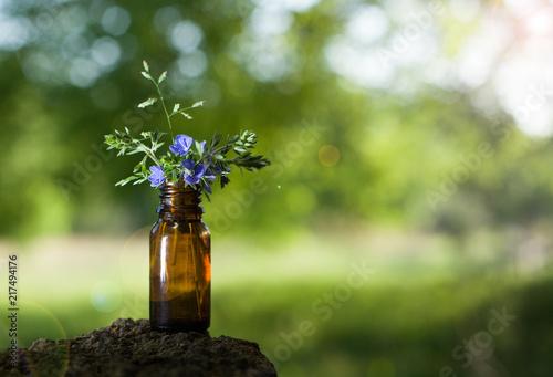 Fotografie, Obraz  Alternative medicine, aromatherapy - bottle.