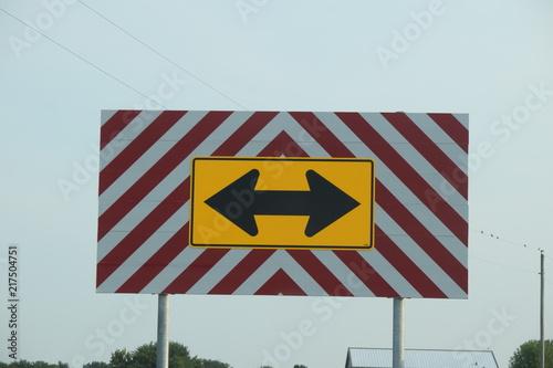 Valokuva  Road Sign
